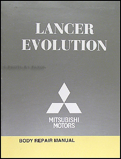 2008-2015 Mitsubishi Lancer Evolution Body Manual Original