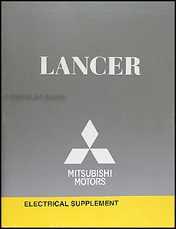 2008 Mitsubishi Lancer Wiring Diagram Manual Original