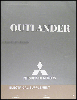 2008 Mitsubishi Outlander Wiring Diagram Manual Original