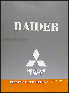 2008 Mitsubishi Raider Wiring Diagram Manual Original