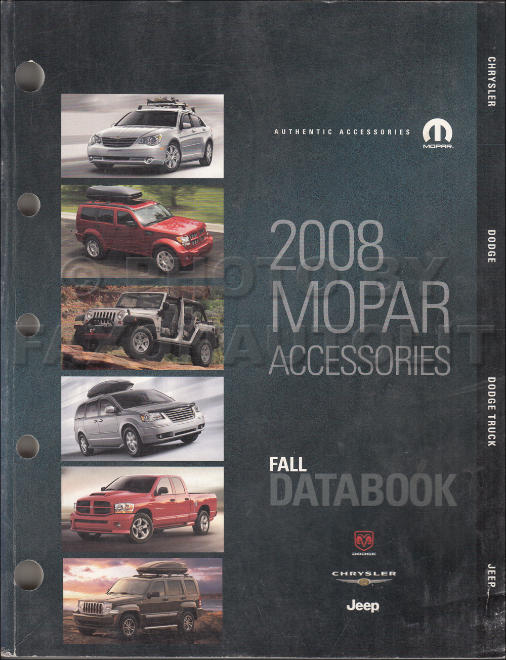 2008 MoPar Accessories Databook Original Fall