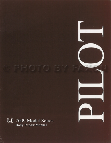 2009-2011 Honda Pilot Body Manual Original