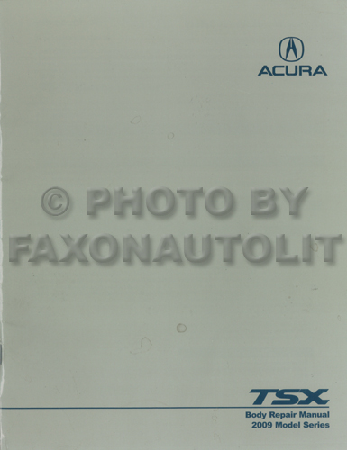 1991-1994 Acura NSX Original Body Repair Manual
