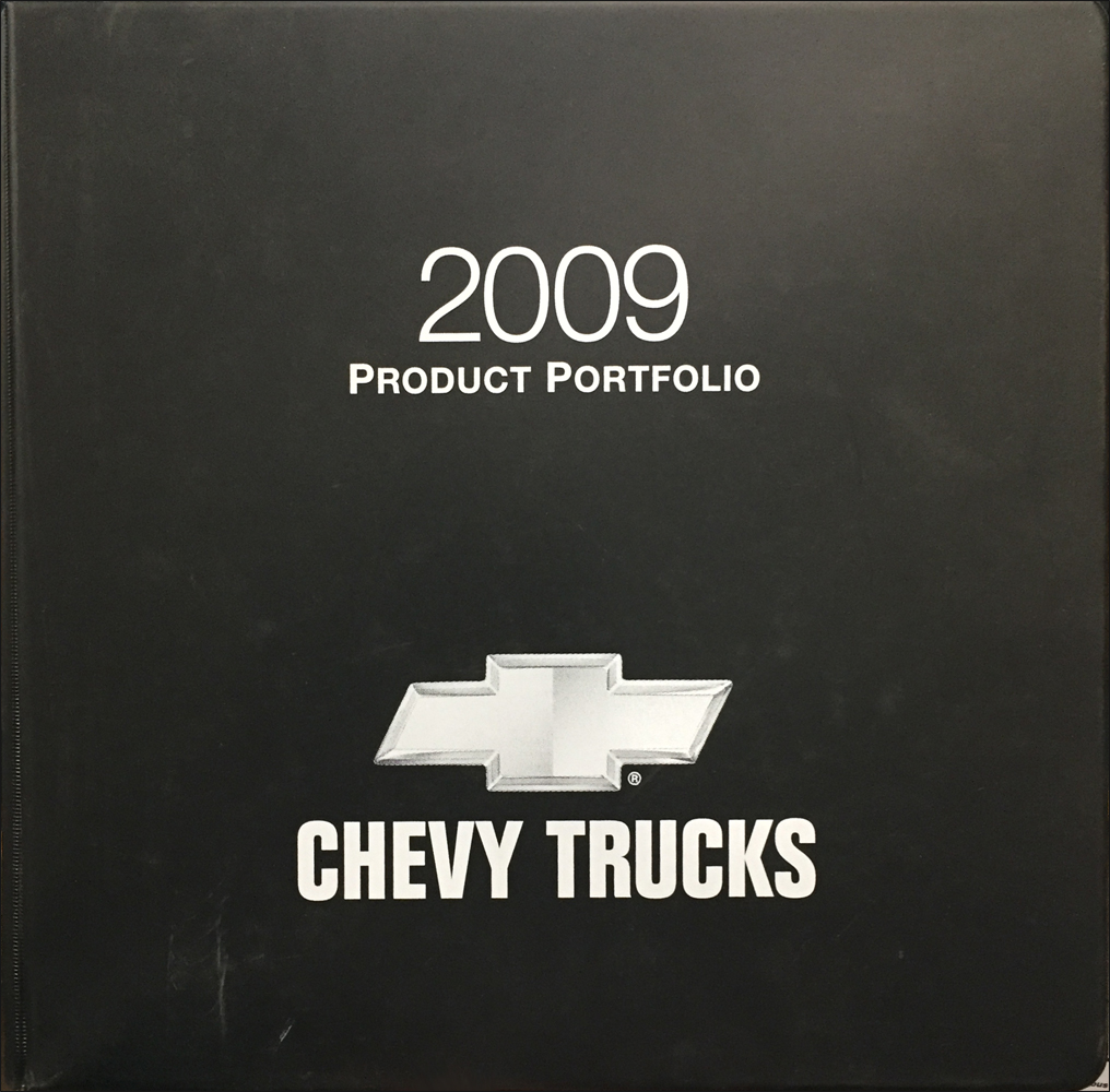 2009 Chevrolet Truck Color and Upholstery Dealer Album/Data Book Original