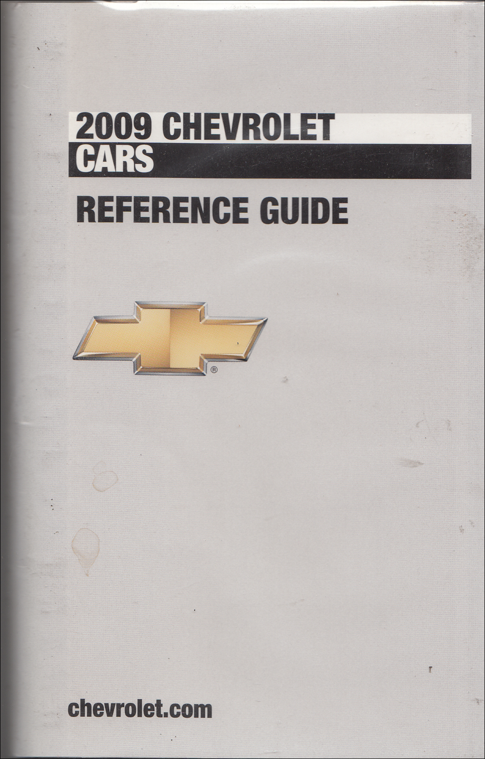 2009 Chevrolet Car Data Book with Color & Upholstery Original