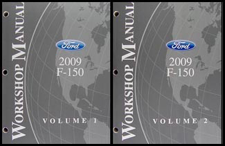 2009 Ford F-150 Repair Manual 2 Volume Set Original