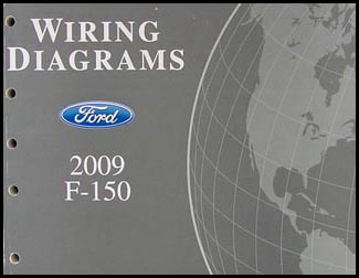 2009 Ford F-150 Wiring Diagram Manual Original