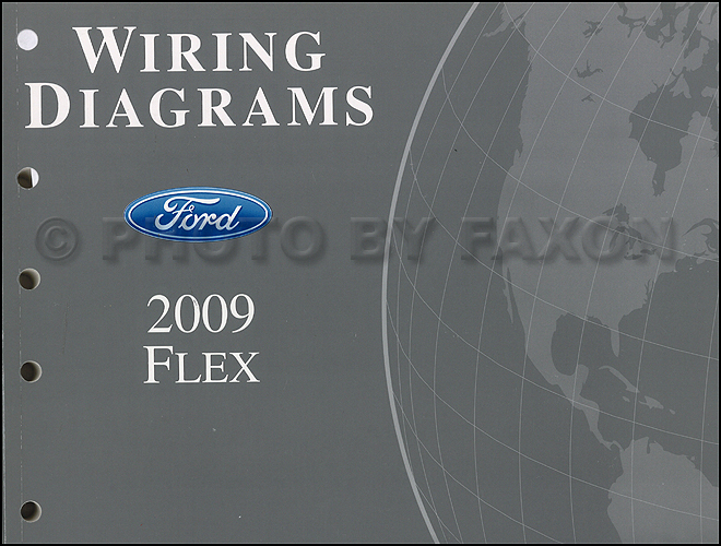 2009 ford flex wiring diagram manual original Ford 3.5L Engine