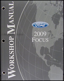 2009 Ford Focus Shop Manual Original