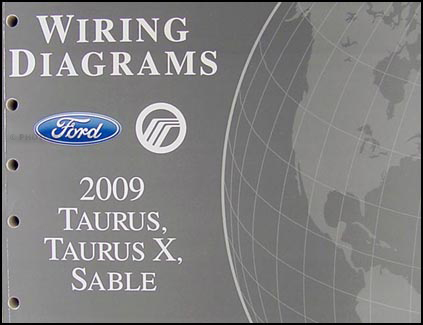 2009 Ford Taurus, Taurus X, Sable Wiring Diagrams Manual OriginalFaxon Auto Literature