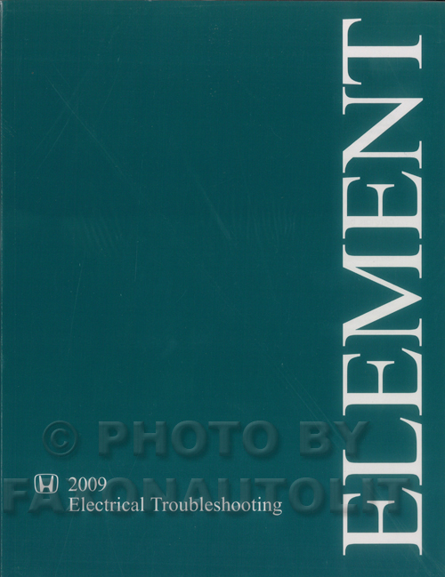 2009-2011 Honda Element Electrical Troubleshooting Manual Original