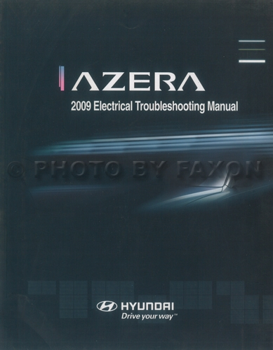 2009 Hyundai Azera Electrical Troubleshooting Manual Original