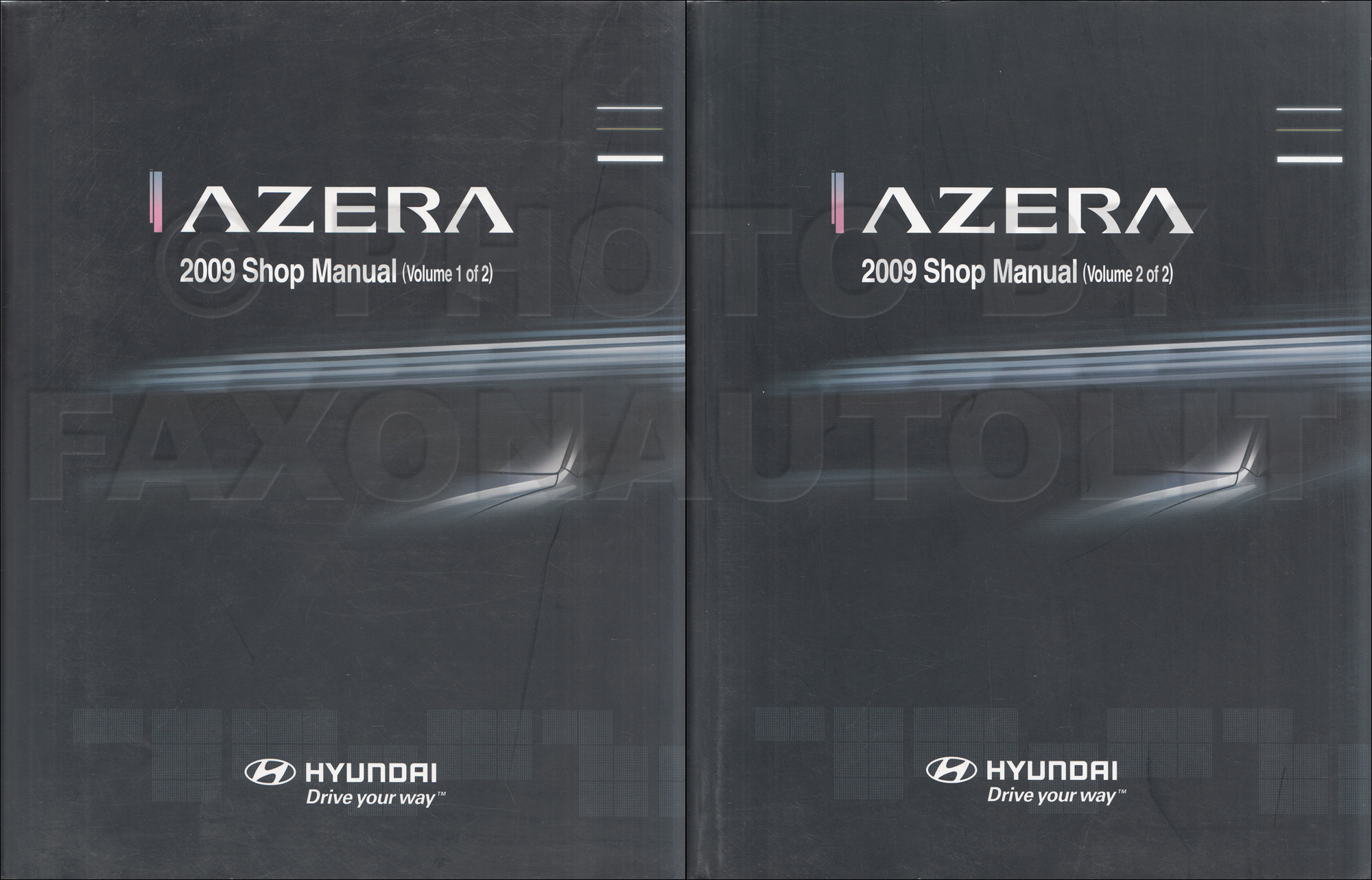 2008 Hyundai Azera Repair Manual Set Original