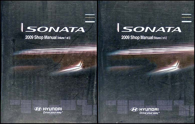 2009 Hyundai Sonata Electrical Troubleshooting Manual Original
