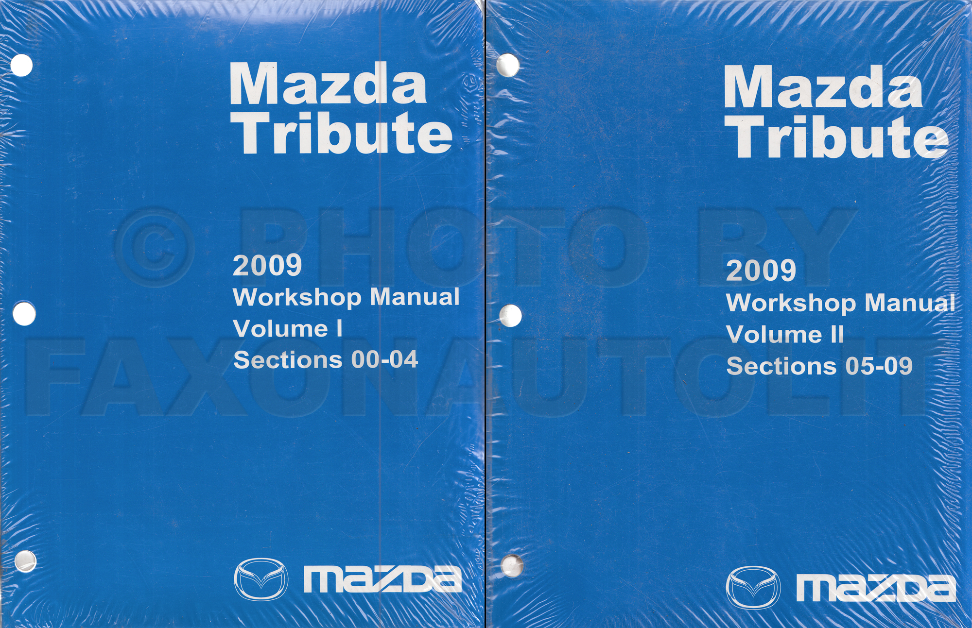 2008 Mazda Tribute Repair Manual Original