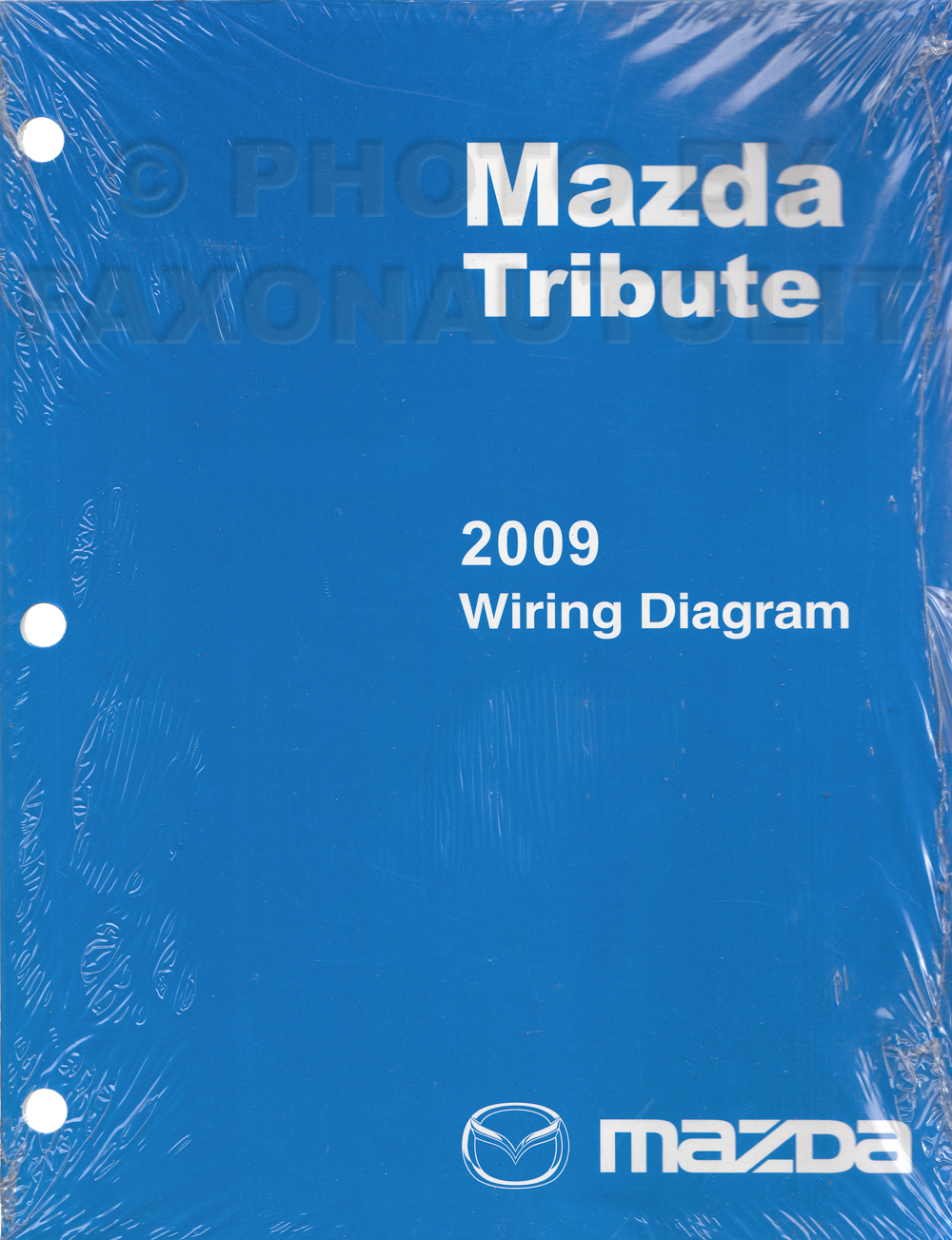 2009 Mazda Tribute Wiring Diagram Original