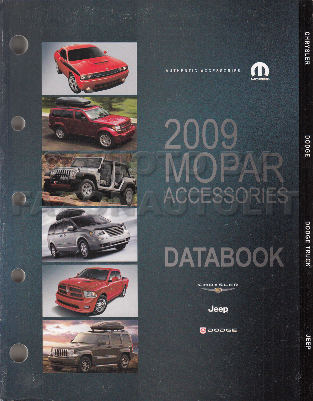 2009 MoPar Accessories Databook Original