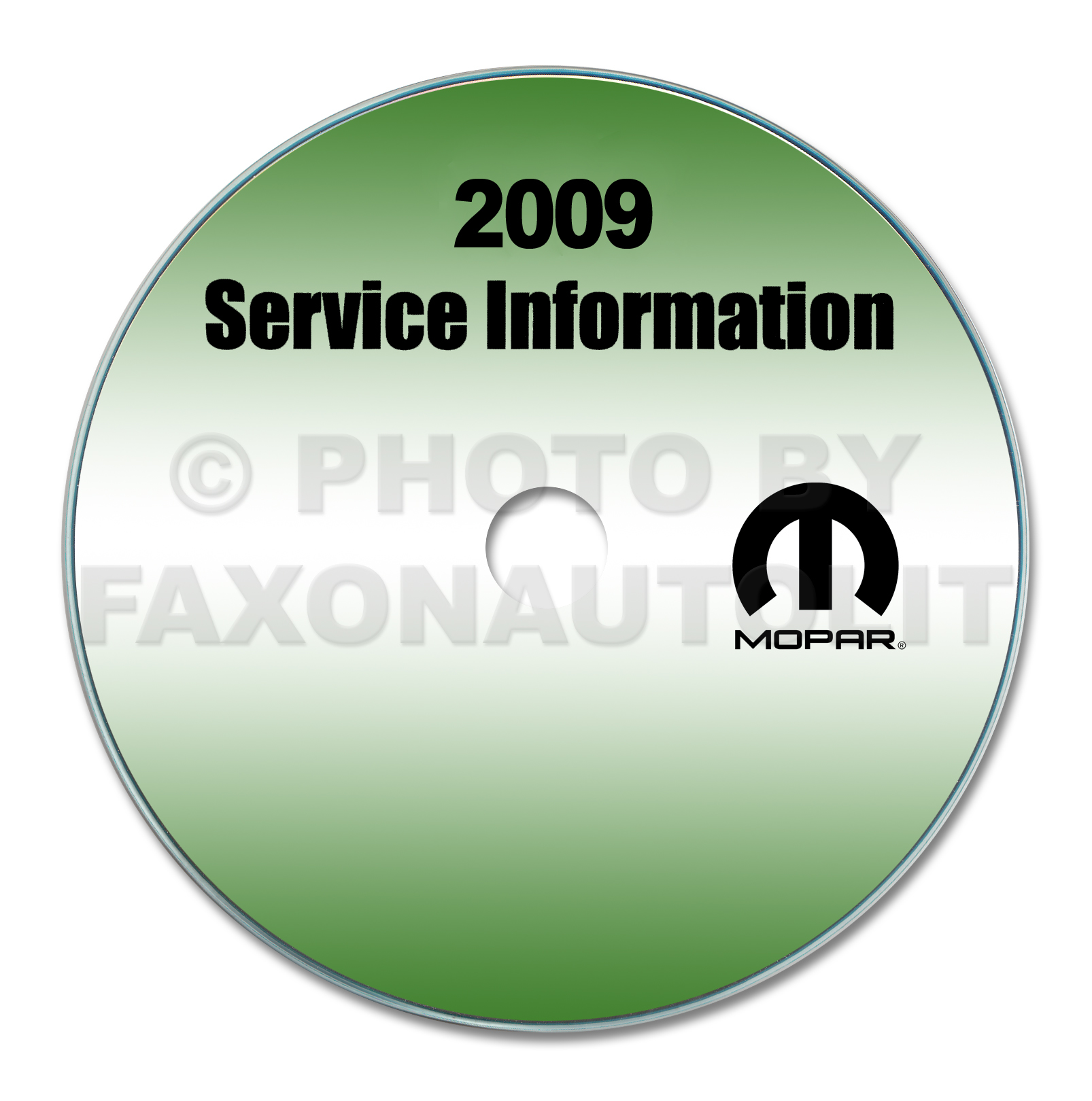 2009 Dodge Sprinter Repair Shop Manual CD-ROM