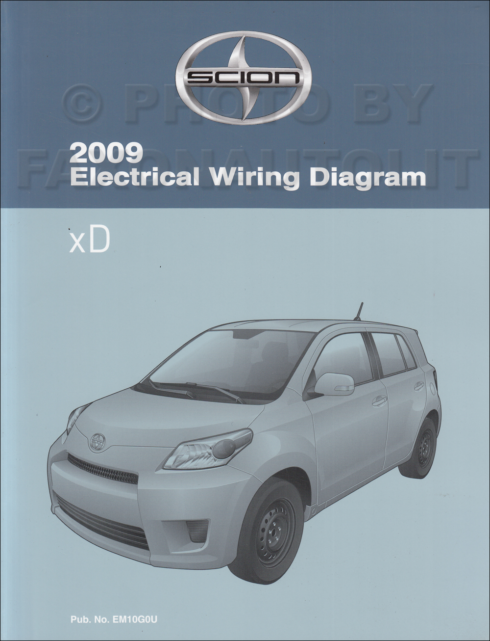 2009 scion xd wiring diagram manual original 2000 Scion XD 2009scionxdowd jpg