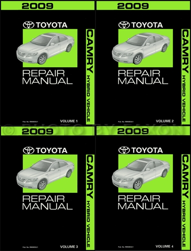 2008 Toyota Camry Hybrid Repair Manual Original Volume 5 Only