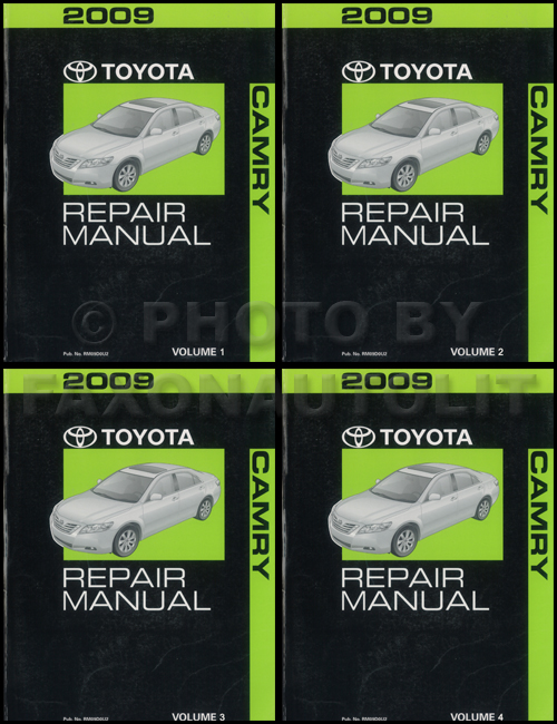 1993 Toyota Camry Repair Manual Original 2 Vol. Set