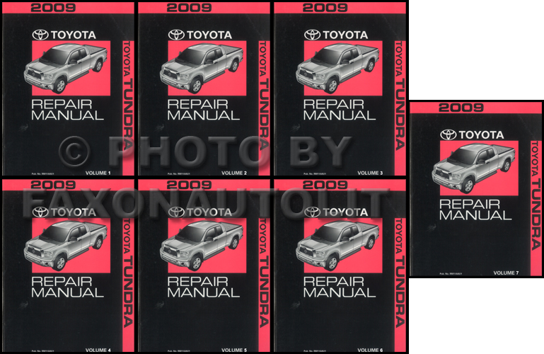 2009 Toyota Tundra Wiring Diagram Manual Original