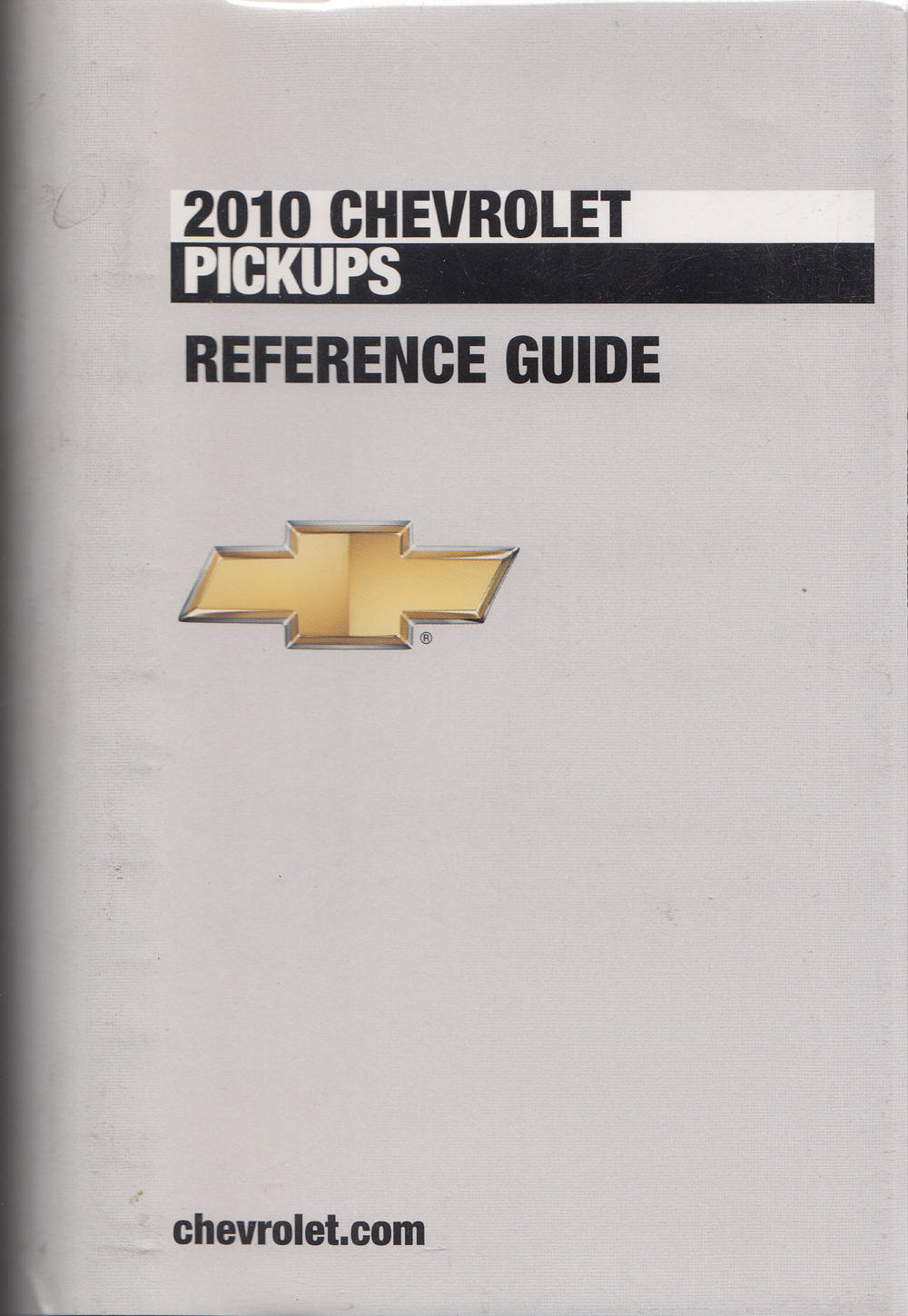 2010 Chevrolet Pickup Data Book with Color & Upholstery Original
