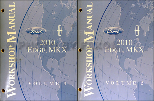 2010 Ford Edge Lincoln Mkx Wiring Diagram Manual Original