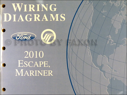 2010 ford escape and mercury mariner wiring diagram manual original rh faxonautoliterature com 2010 ford escape wiring diagram pdf 2010 ford escape trailer wiring diagram