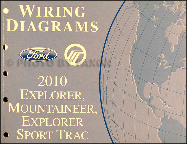 2010 Ford Explorer and Sport Trac, Mountaineer Wiring Diagram Original