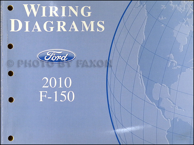 2010 Ford F-150 Wiring Diagram Manual Original