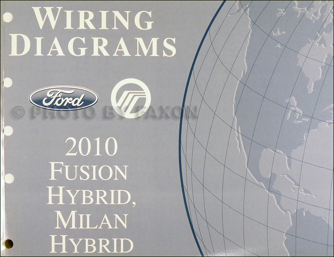 2010 Ford Fusion Hybrid/Mercury Milan Hybrid Wiring Diagram Manual Original