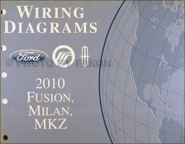 2010 Ford Taurus Fusion Milan Mkz Parts Book Original