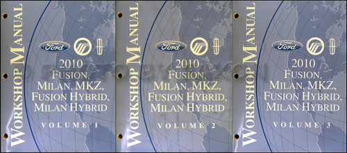 2009 Ford Mustang Shop Manual Original 2 Volume Set