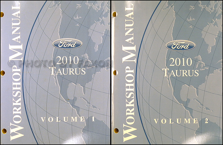 2009 Ford Taurus and Sable Shop Manual Original 2 Vol. Set