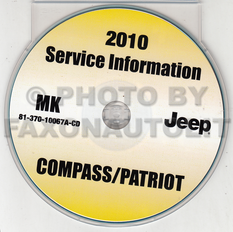 2008 Jeep Patriot & Compass Shop Manual Set Original 4 Vol. Set