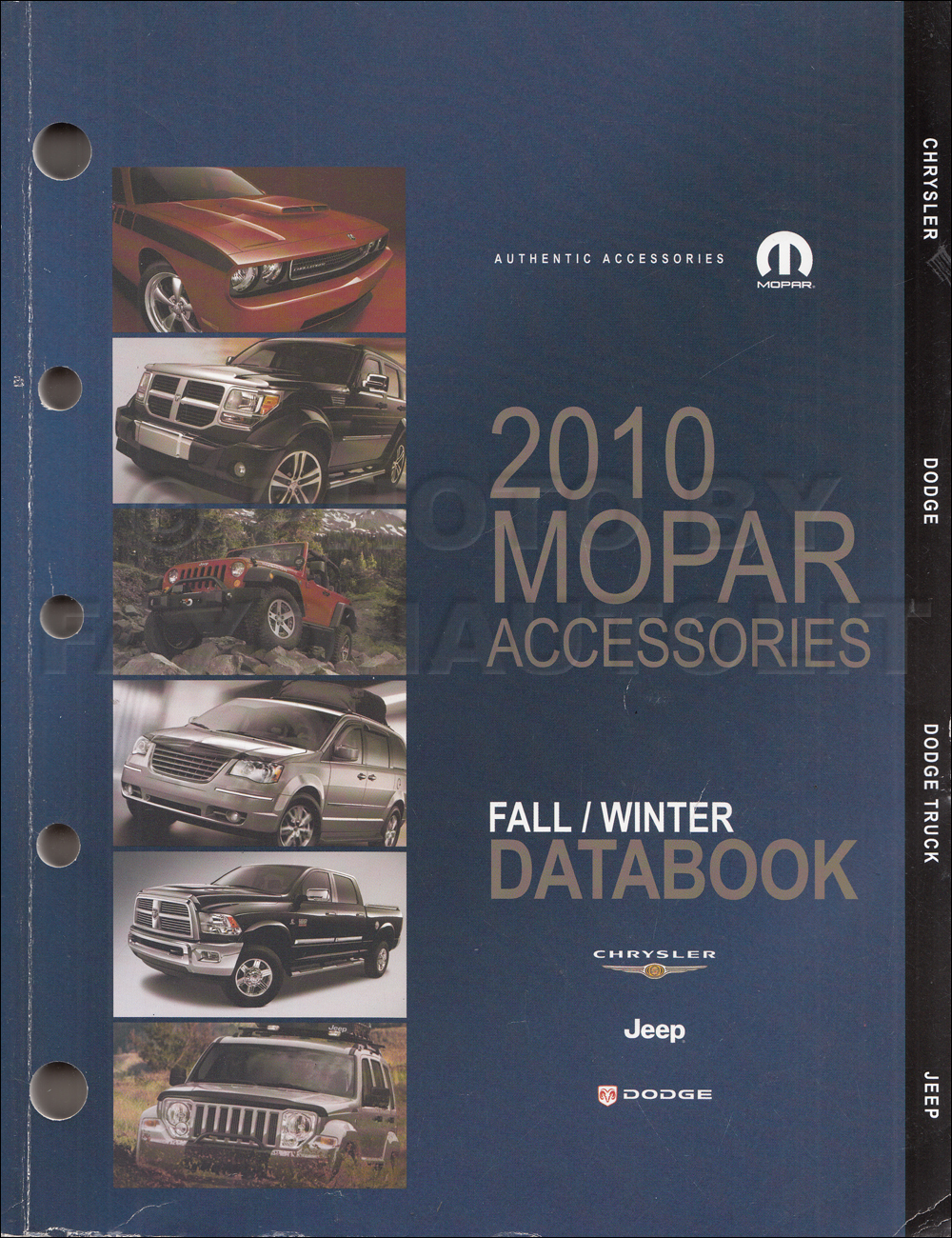2010 MoPar Accessories Databook Original Fall/Winter