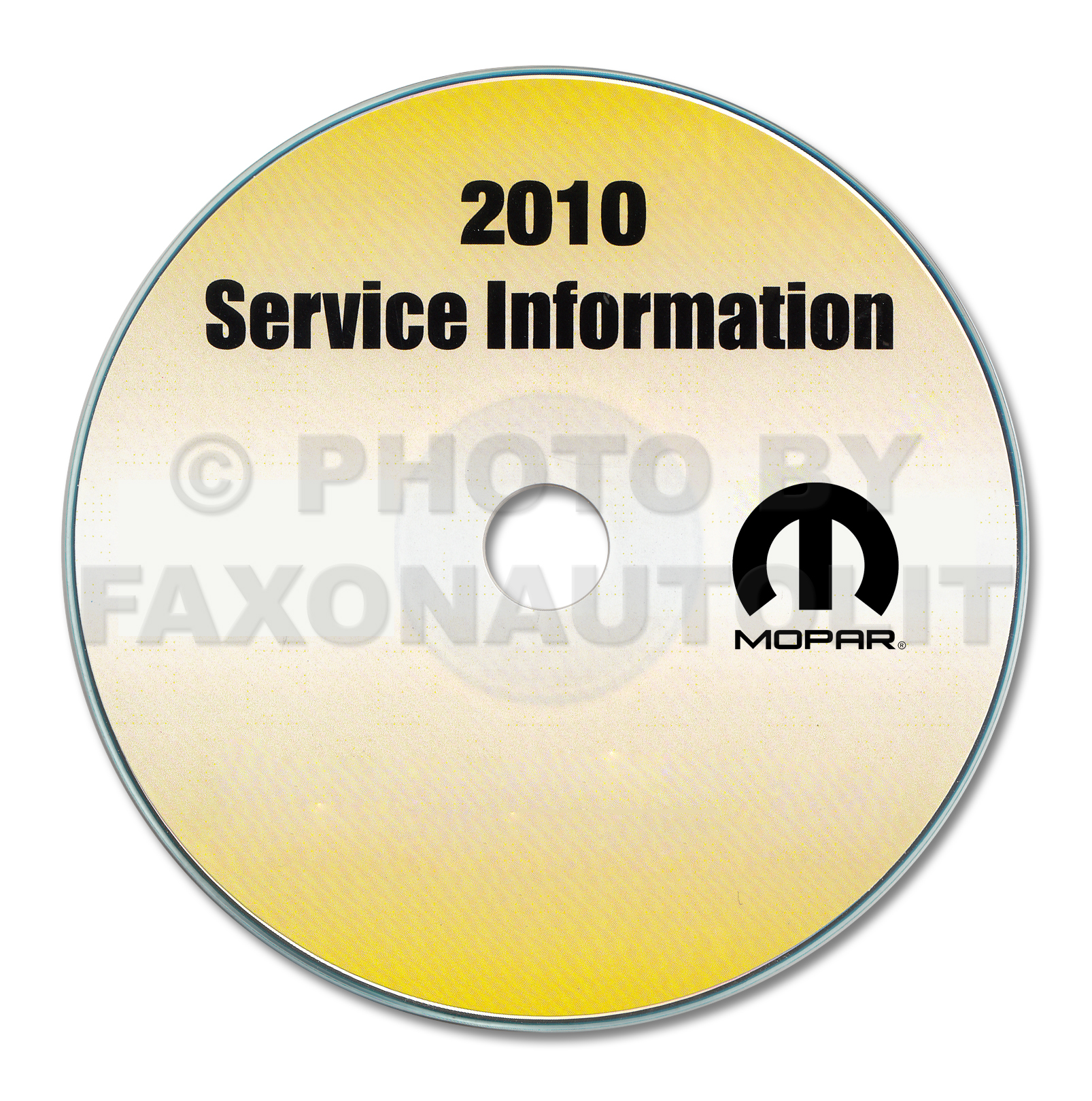 2010 Chrysler PT Repair Shop Manual CD-ROM