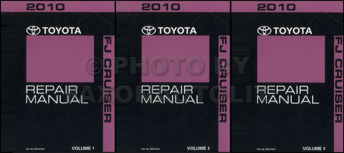 2000 Toyota Land Cruiser Repair Manual Original Set