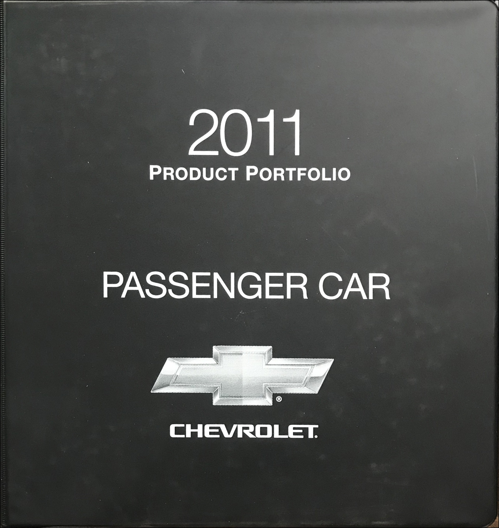 2011 Chevrolet Car Color & Upholstery Dealer Album/Data Book Original