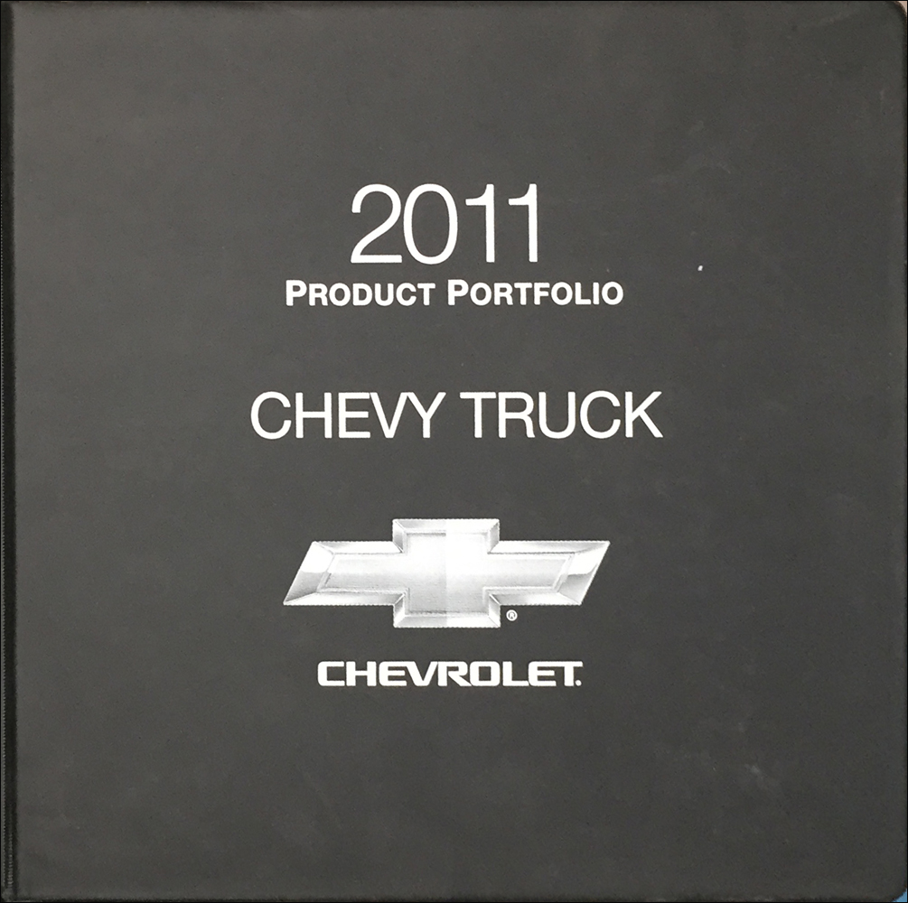2011 Chevrolet Truck Color and Upholstery Dealer Album/Data Book Original