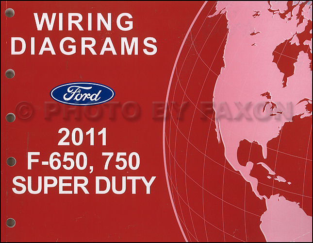 [DIAGRAM_3ER]  2011 Ford F-650 and F-750 Super Duty Truck Wiring Diagram Manual Original | 1996 Ford F750 Wiring Schematic |  | Faxon Auto Literature