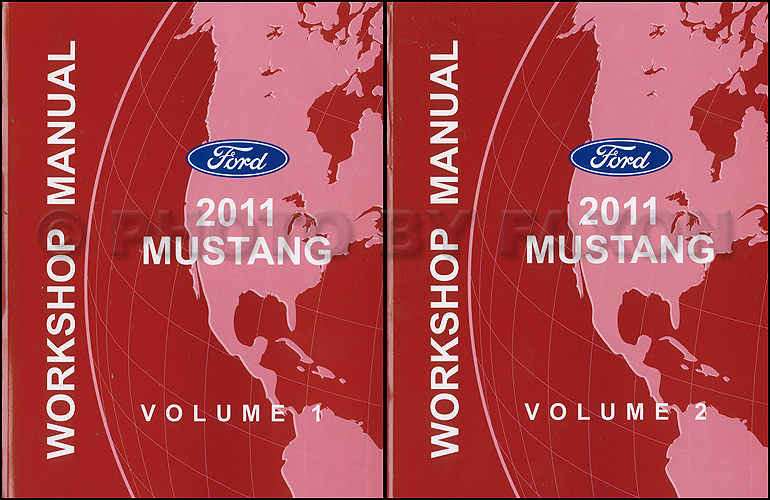 2011FordMustangORMSet 2011 ford gasoline engine and emissions diagnosis manual original