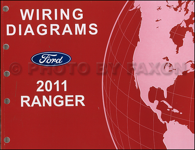 2011 Ford Ranger Wiring Diagram Manual OriginalFaxon Auto Literature
