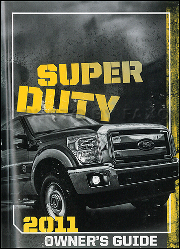 ford f350 user manual