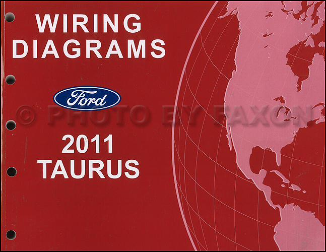 2011 Ford Taurus Wiring Diagram Manual Original