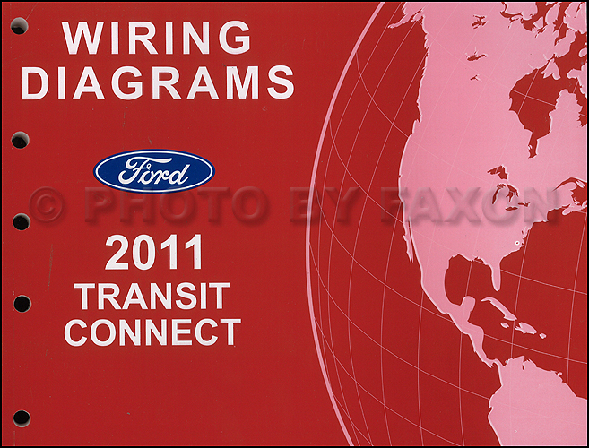 2011 Ford Transit Connect Wiring Diagram Manual Original