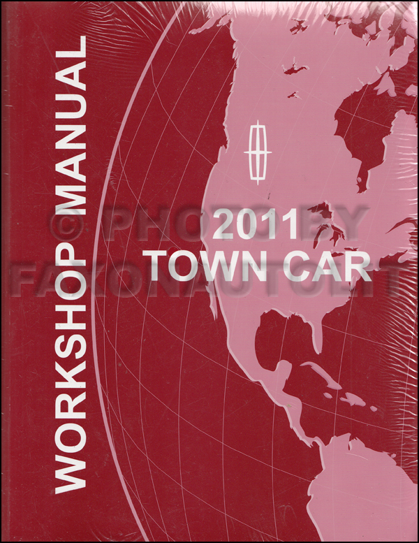 2010 Lincoln Town Car Shop Manual Original