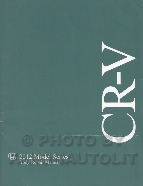 1997-2001 Honda CR-V Body Repair Manual Original