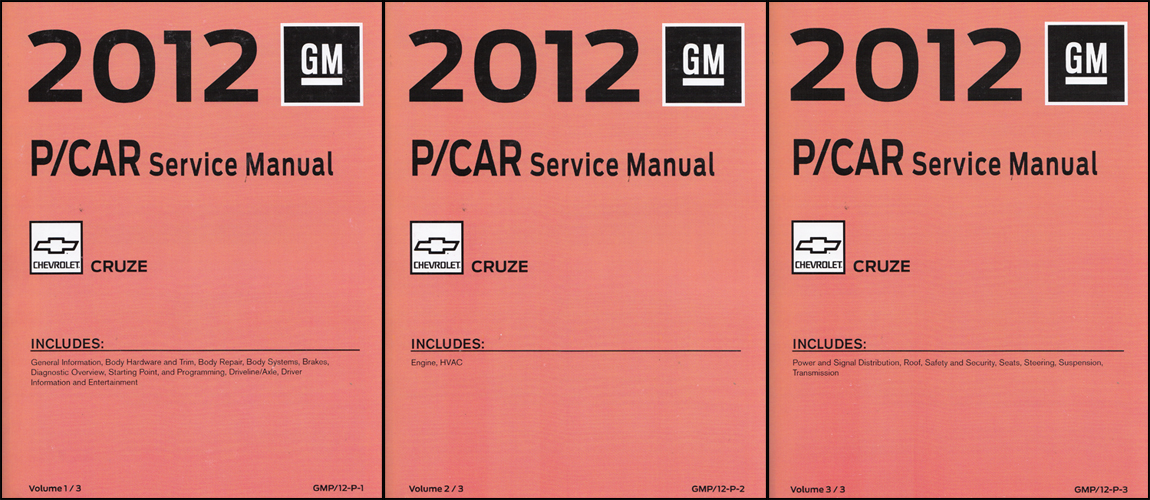 2002 Camaro, Firebird, & Trans Am Repair Manual Original 3 Volume Set